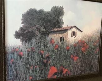 Poppies Art Bordelli