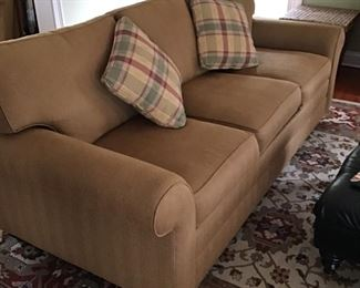TWOGold Couches- Ethan Allen