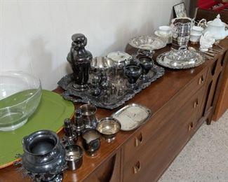 silver service ware