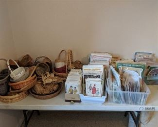 baskets and sewing and crafting patterns