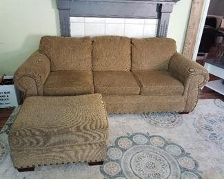Sofa and ottoman