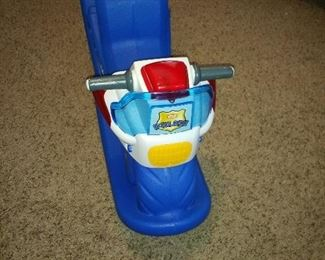Police jetski toy