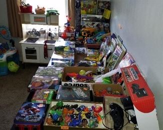 Lots of really great toys