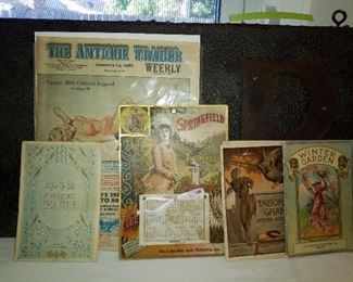 Old advertisements and miscellaneous
