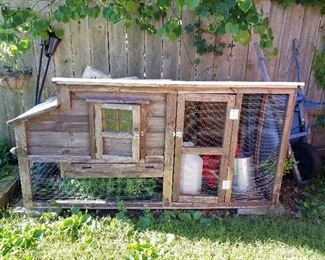 Chicken coops and accessories