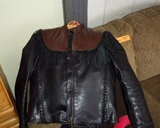 Womans leather jacket. Small