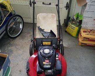 Toro lawnmower like new