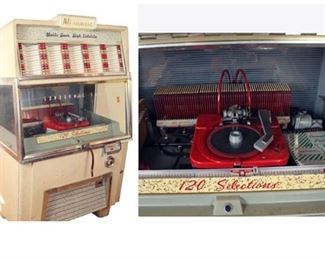 1954 Ami Hi Fidelity Jukebox with manual- off site call for appt