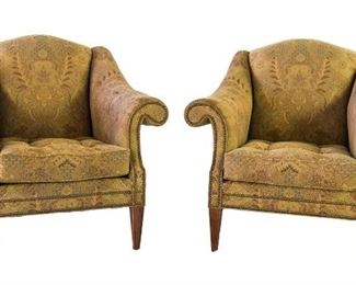 pair of beautiful arm chairs