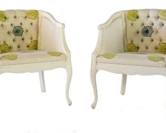 french chairs- newly reuphostered