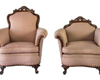 victorian arm chairs