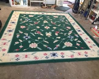 Area rug about 8'x10'