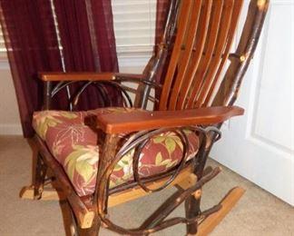 Amish Twig Rocking Chair (1 of 2)