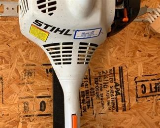 Stihl edger, weedwacker