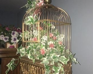19th Singing Bird automaton cage