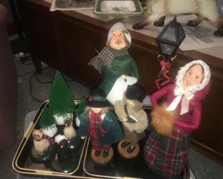 Byers' Choice Carolers and accessories