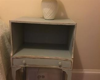 Lt blue nightstand