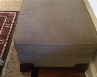 Storehouse ottoman (matches loveseat)