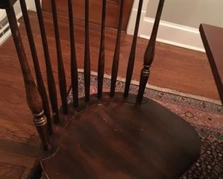 Hitchcock (stamped) chairs (4 in total)