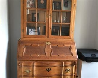 Oak Secretary, gorgeous piece!