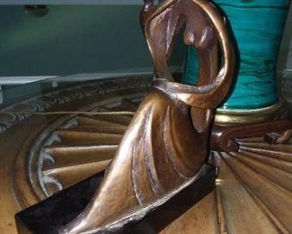 Mother & Child Sculpture