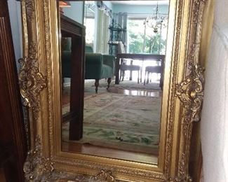 BEAUTIFUL Collection Of Mirrors Including Ornate Carved Antique Mirrors, Sunburst Mirrors, Etched Mirrors, And Many Others