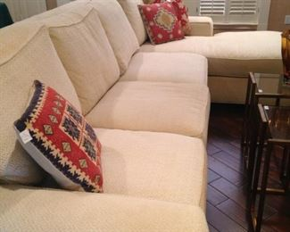 Large sectional with chaise