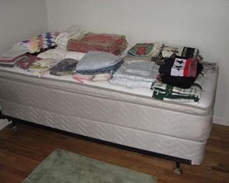 Another like new mattress and box spring