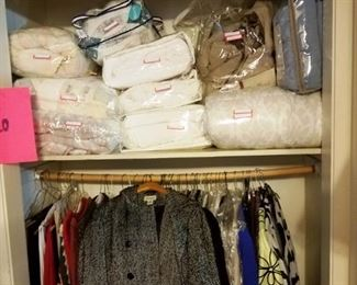 comforters and women clothing