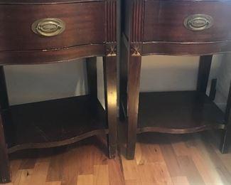 antique matching stands