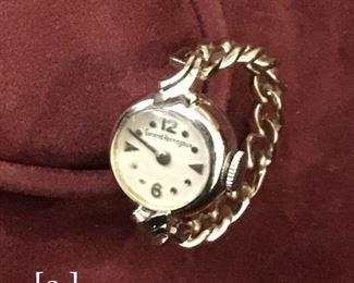 Geraud Finger Watch in white gold