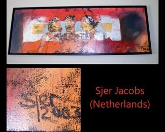 Original modern art by Sjer Jacobs