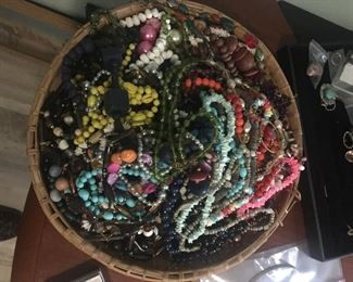 Assorted Plethera of Costume Jewelry