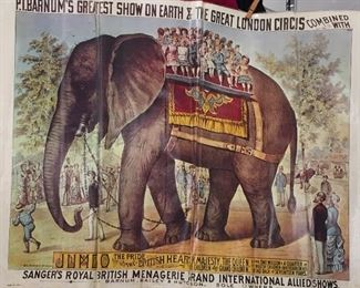 Vintage Ringling, Barnum & Bailey Brothers Circus Posters