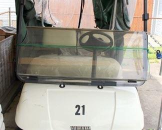 1998 Yamaha G16A Gas Powered Golf Cart