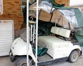 1998 Yamaha G16A Gas Powered Golf Cart