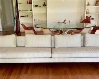 12' long midcentury modern sofa