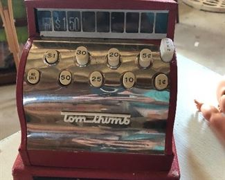 Tom Thumb toy register