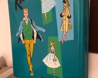 Ken Doll case with doll and accessories