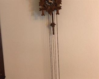German Cuckoo clocks (there are two of them)