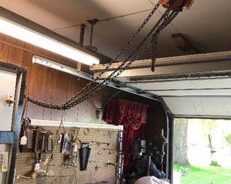 Ingersoll Rand 1/2 chain hoist