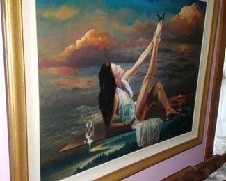 Beautiful framed art