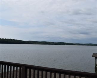 View From The Deck of the House