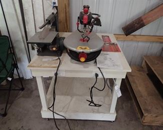 Scroll Saws. Work Table.