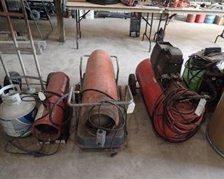 Heaters.Compressor.Forney 190 MIG Welder.