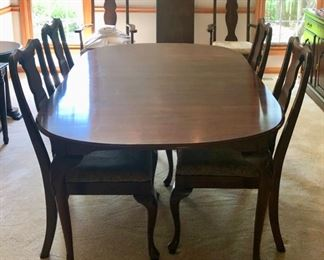Harden Dining Table and 6 Harden Chairs