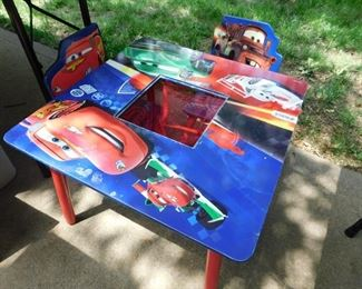Child Play Table & 2 Chairs