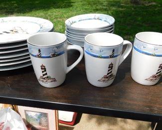 8-place Nautical Dishware Set