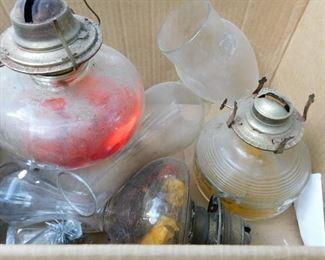 Vintage Kerosene Lamps