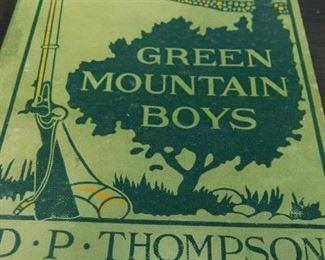 Green Mountain Boys Book